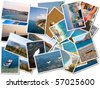 Sea holiday photograph - stock photo