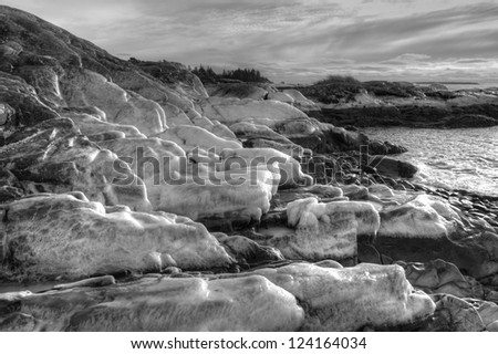 Sea Ice - stock photo