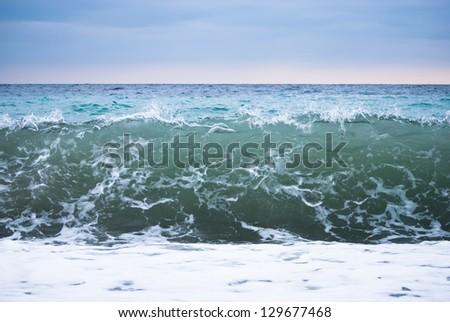 Sea landscape - stock photo