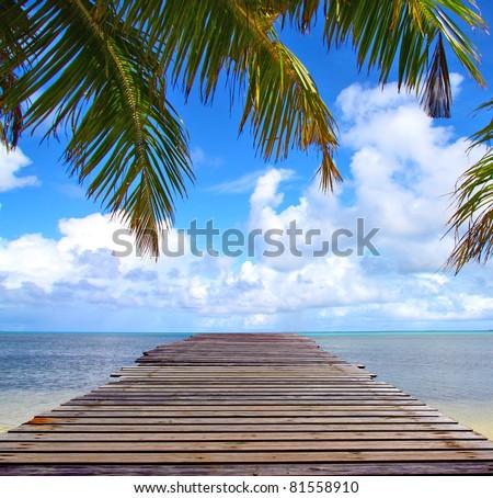 Sea Landscape Horizon - stock photo
