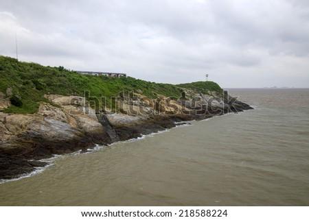 Sea lighthouse  - stock photo