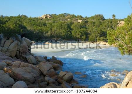 Sea of Sardinia - Capriccioli - stock photo