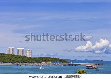 SEA PATTAYA THAILAND - stock photo