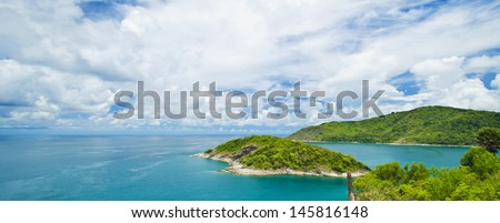 Sea Phuket Thailand - stock photo