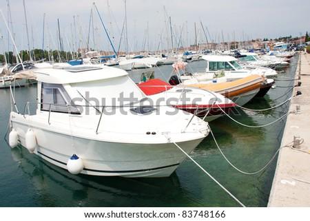 Sea Port - stock photo