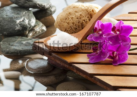 sea salt for hydrating massage