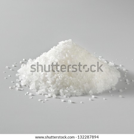 Sea Salt Pile - stock photo