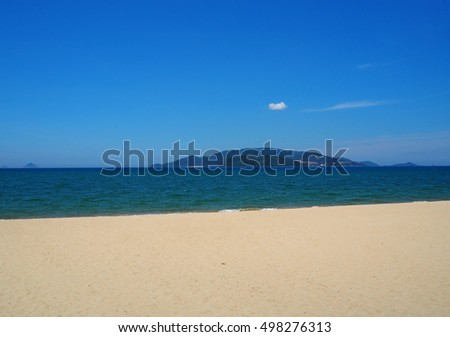 Sea Sand and Sky in Nha Trang