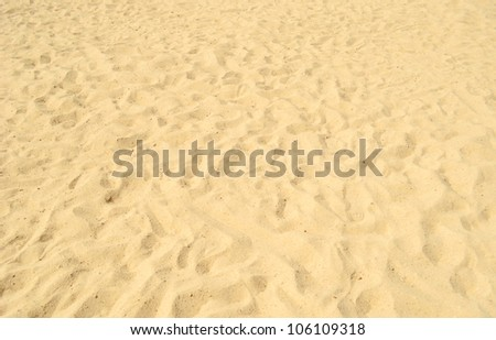 sea sand with footprints (series)