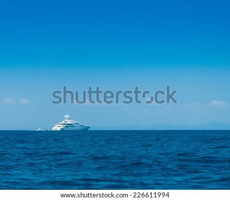 Sea Scene Vast Seascape  - stock photo