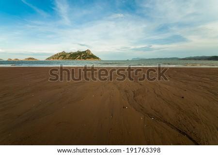 sea shore in Fujian Province, China - stock photo