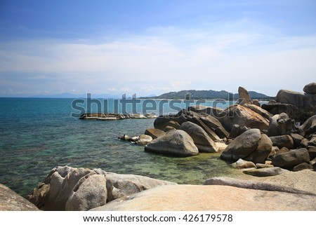 Sea, southern Thailand province of Surat Thani.
