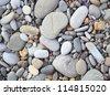 Sea stones background. - stock photo
