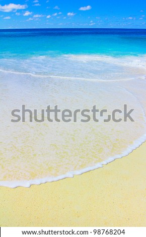 Sea Storm Splashing - stock photo