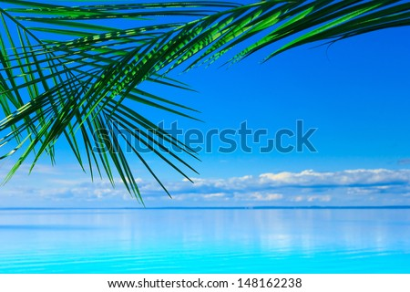Sea Summer Background  - stock photo