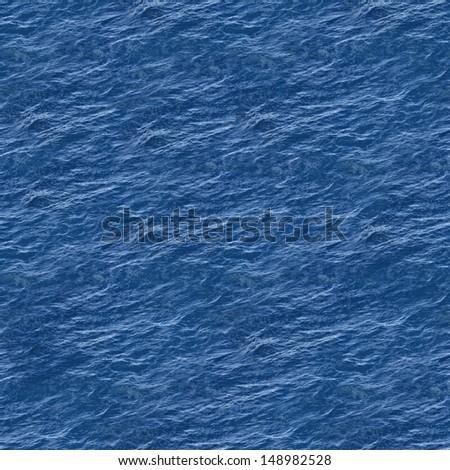 Sea Surface Seamless Pattern Background - stock photo
