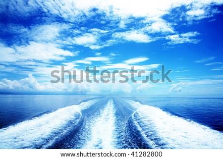 Sea Travel - stock photo