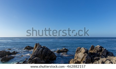 sea view of pacific