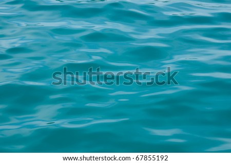 Sea  water surface - stock photo