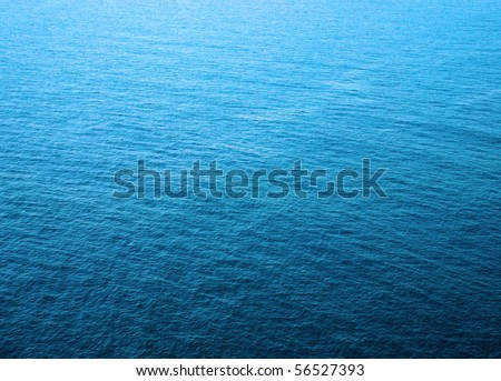 Sea water - texture, blue aqua - stock photo