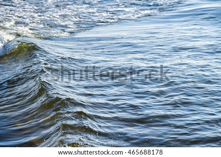 Sea wave water background, Abstract background.