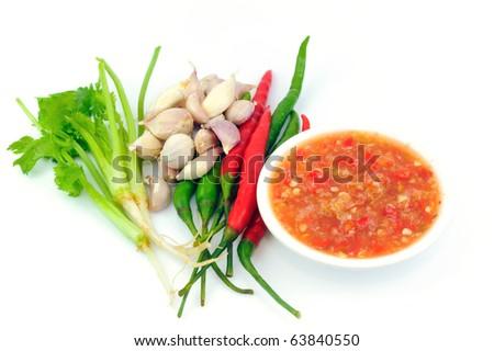 Seafood sauce - stock photo