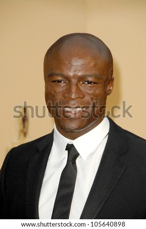Seal at the 81st Annual Academy Awards. Kodak Theatre, Hollywood, CA. 02-22-09