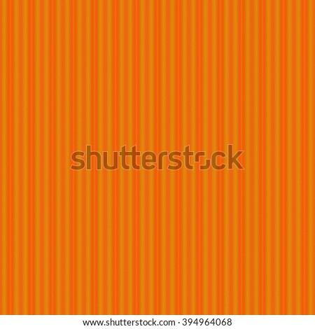 Seamless abstract background orange with vertical lines - stock photo