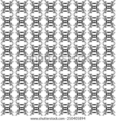 seamless abstract black white pattern black white texture with black line wicker black white background raster - stock photo