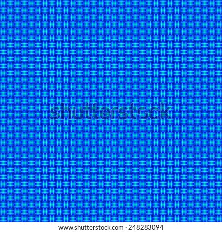 seamless abstract blue pattern blue cyan texture with turquoise line wicker blue background raster - stock photo