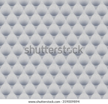 Seamless Abstract Bubblewrap Texture Background with Noise Added