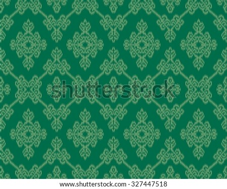 Seamless Abstract Ethnic weave Pattern.Able to repeat for textile printing.