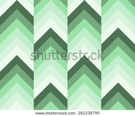 Seamless abstract geometric chevron pattern with zigzags. - stock photo