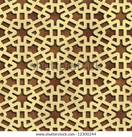 Seamless. Abstract grates pattern. Good for replicate.