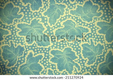 Seamless abstract leaves background - stock photo