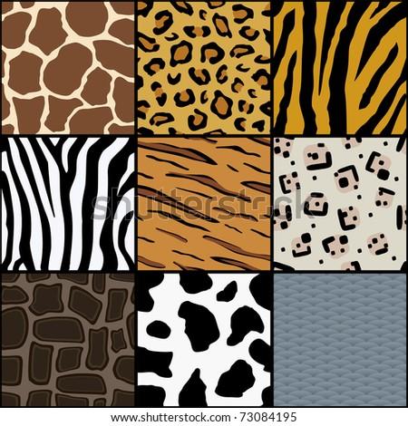 Seamless Animal Texture - stock photo