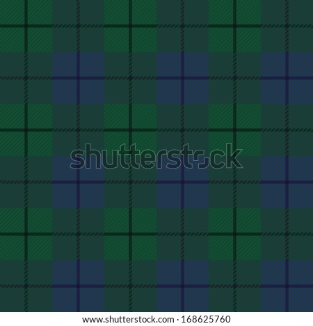 Seamless background of plaid pattern, raster version of vector - stock photo