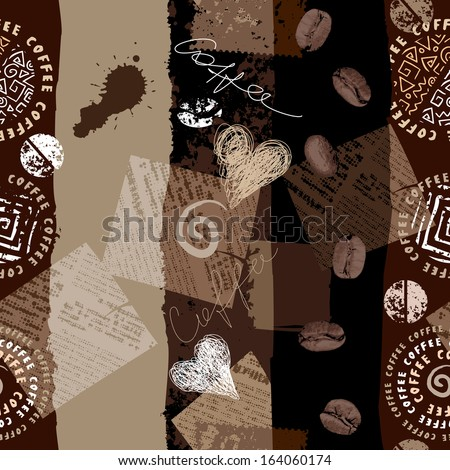 Seamless background pattern. Will tile endlessly. - stock photo