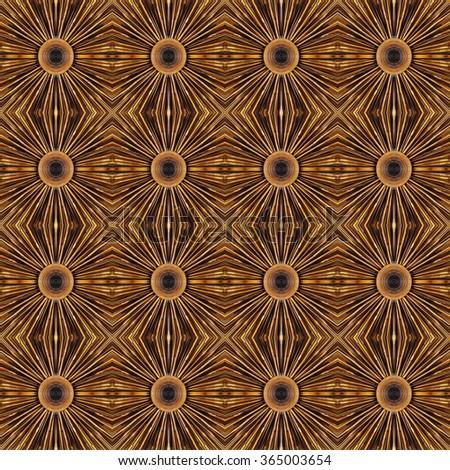 Seamless bamboo pattern - stock photo