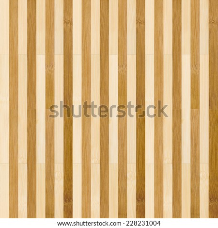 Seamless bamboo striped floor background. - stock photo