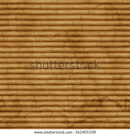 Seamless bamboo texure - stock photo