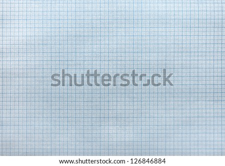 seamless blue graph paper pattern - stock photo