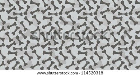 Seamless bone texture raster pattern greyscale background