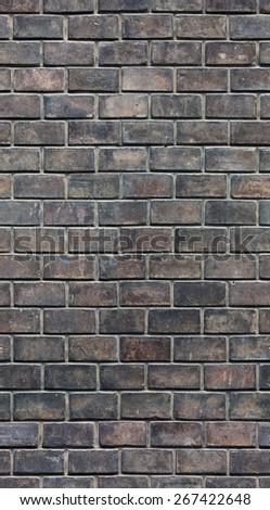 seamless brick wall texture - stock photo