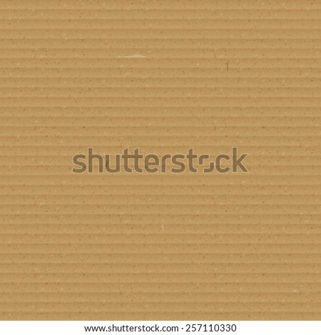 Seamless Cardboard Texture - stock photo