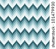 Seamless chevron background. Geometric pattern on paper texture. - stock photo
