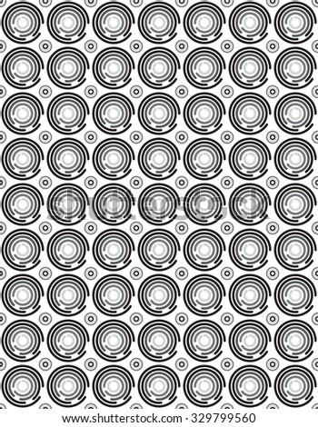 seamless circle pattern background  jpeg version - stock photo