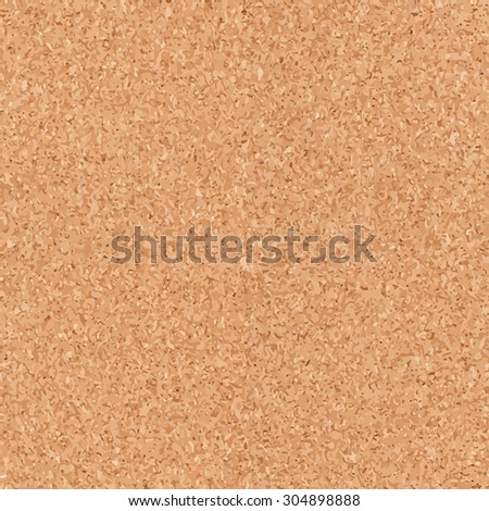 Seamless cork board texture background.