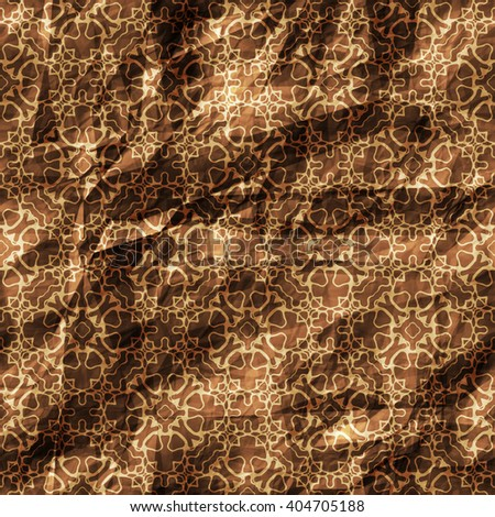 Seamless Creased Texture Background