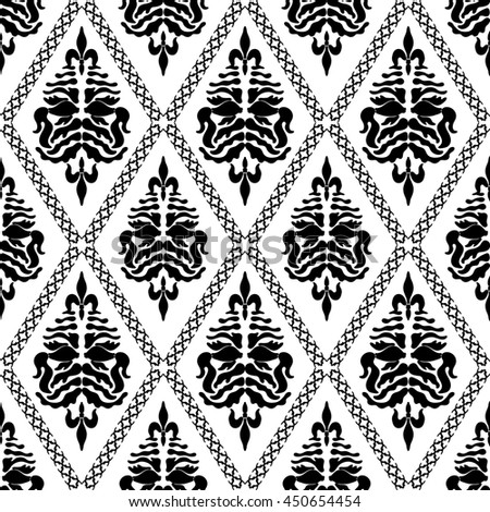 Svetlana kononova 39 s damask patterns set on shutterstock for Deco baroque